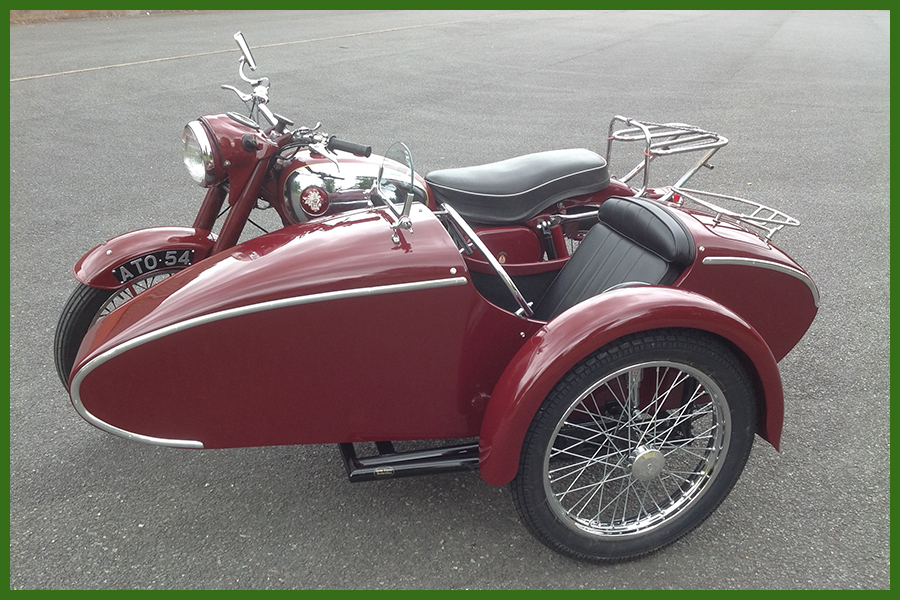 Anson Classic Rapide Sidecar